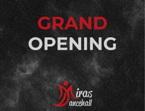 GRAND OPENING – 3.-4. Okt. 2020